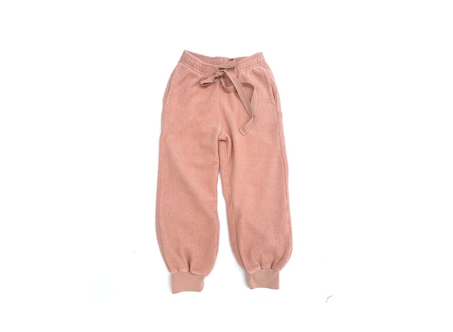 Long Live The Queen Terry Joggers Old Rose