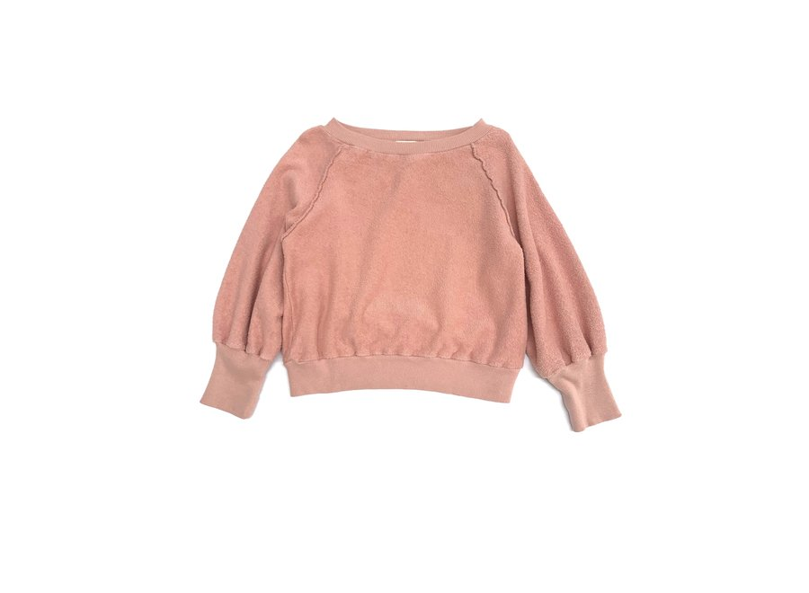 Long Live The Queen Terry Sweater Old Rose