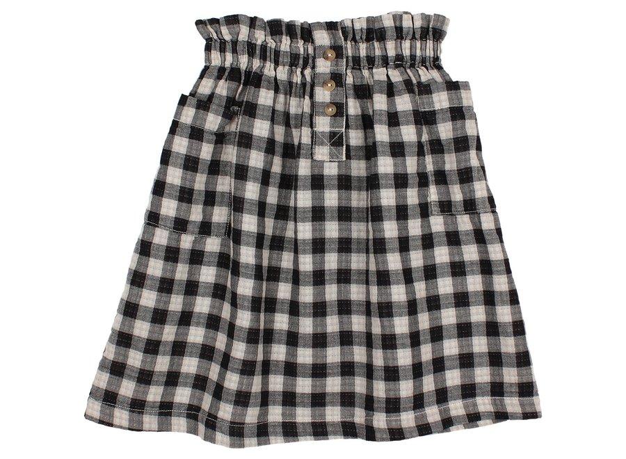 Check Midi Skirt Vichy