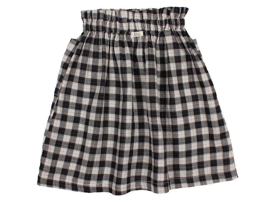 Buho Check Midi Skirt Vichy