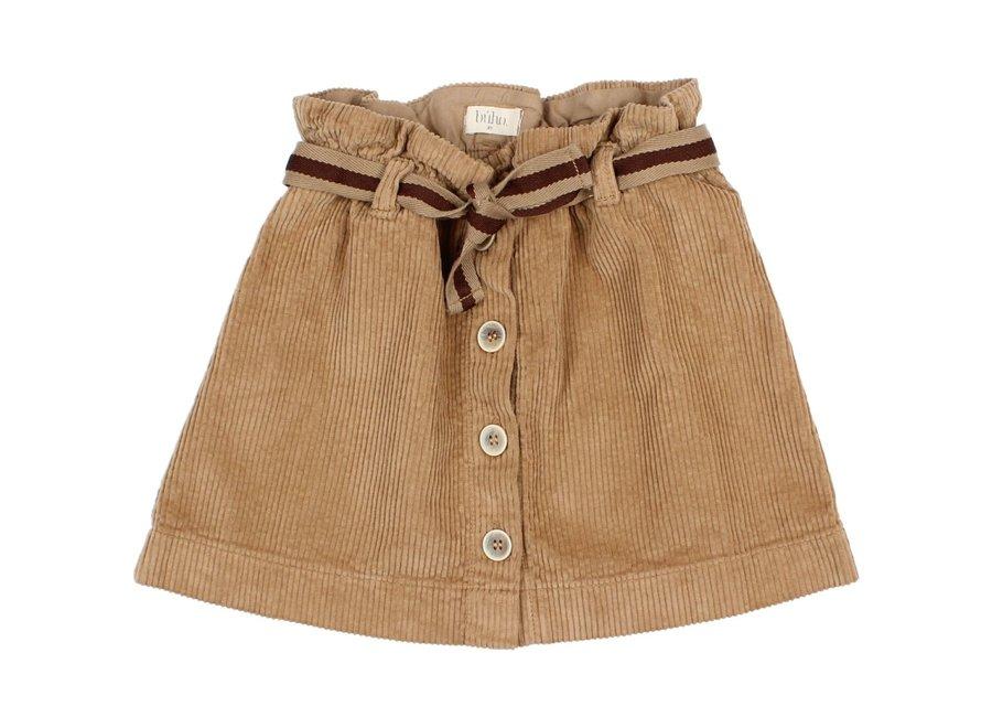 Corduroy Skirt Muscade
