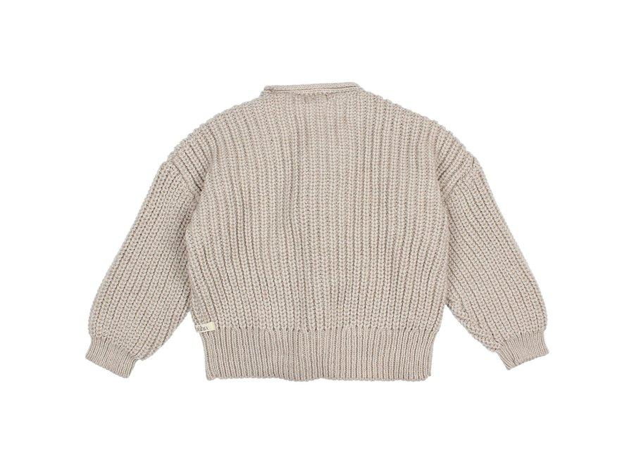 Buho Soft Knit Cardigan Natural