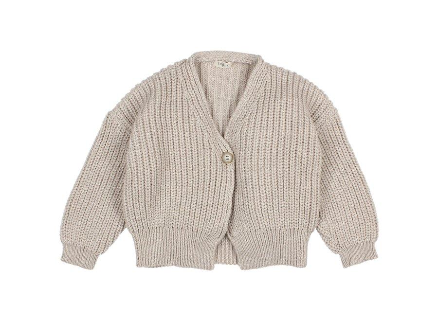 Soft Knit Cardigan Natural