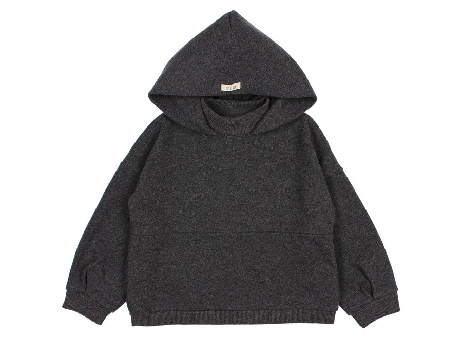Cozy Hoodie Sweatshirt Antracite