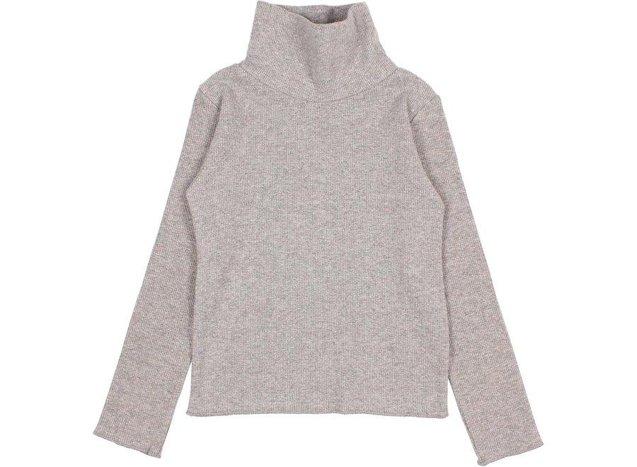Soft Rib Sweatshirt Stone