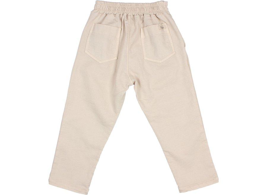 Buho Mom Fit Pants Stone