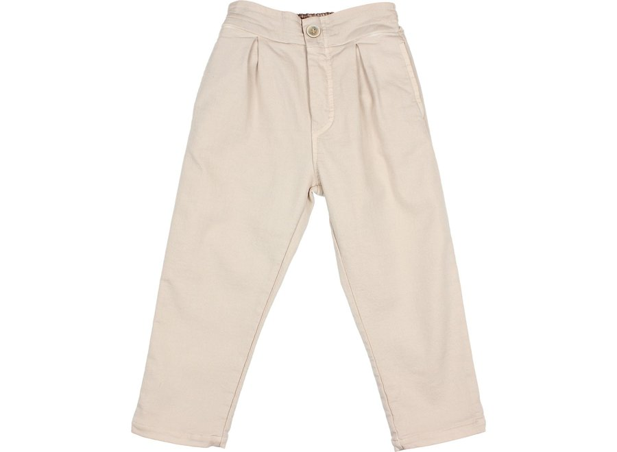 Mom Fit Pants Stone