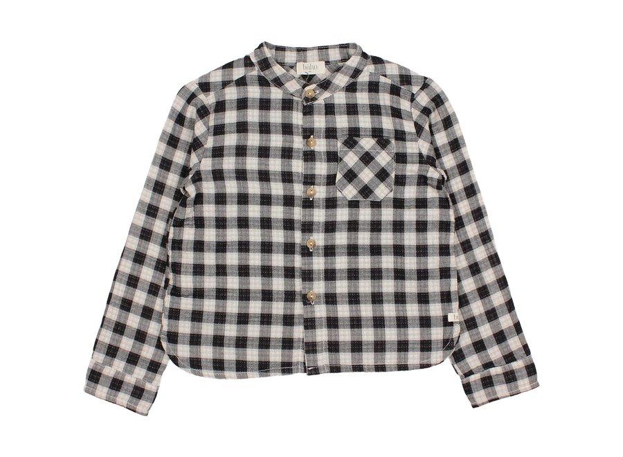 Buho Vichy Pocket Shirt Ecru