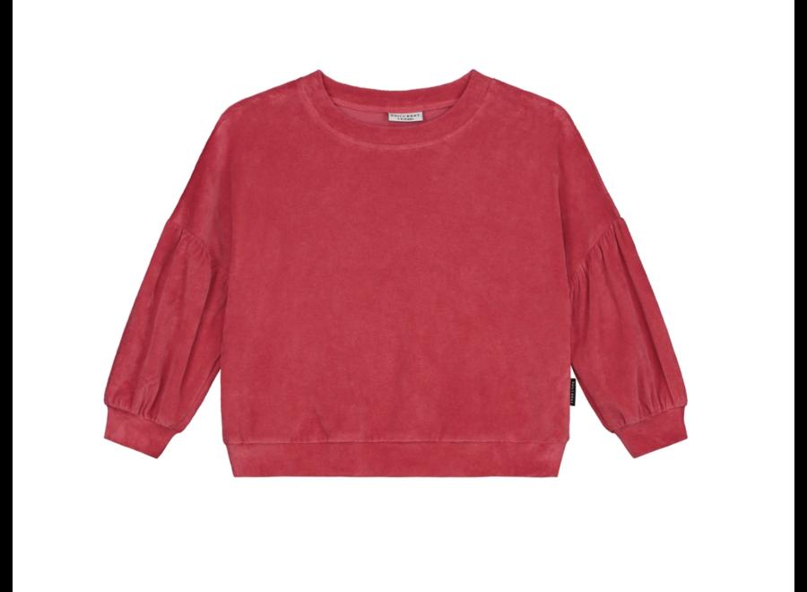 Daily Brat Marant Velours Sweater Dazzle Berry