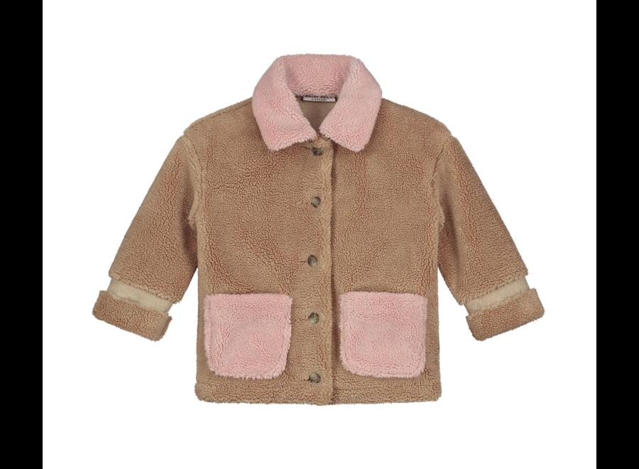 Parker Teddy Jacket Camel