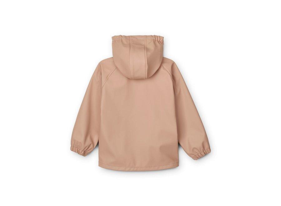 Liewood Serena Rainwear Set Dark Rose