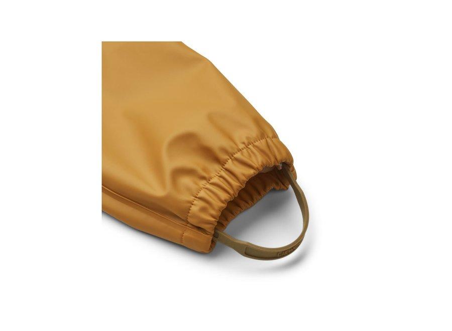Liewood Serena Rainwear Set Golden Caramel