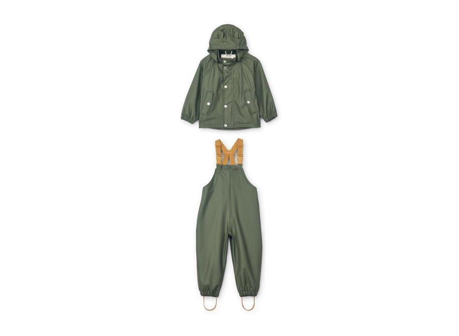 Rafael Rainwear Set Hunter Green