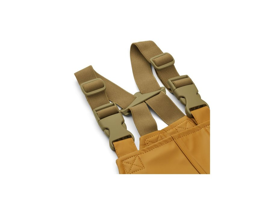 Liewood Rafael Rainwear Set Golden Caramel