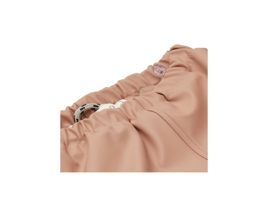 Liewood Ivy Rainwear Set With Padding Dark Rose