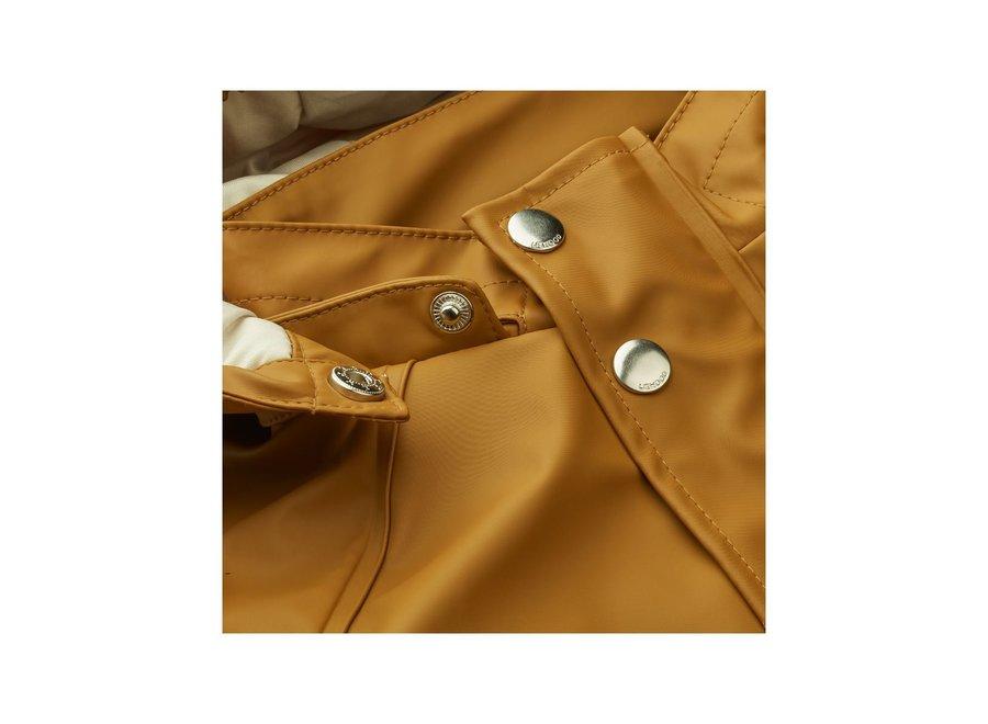 Liewood Ivy Rainwear Set With Padding Golden Caramel