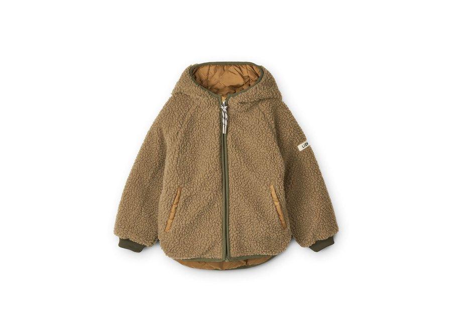 Liewood Jackson Reversible Jacket Golden Caramel