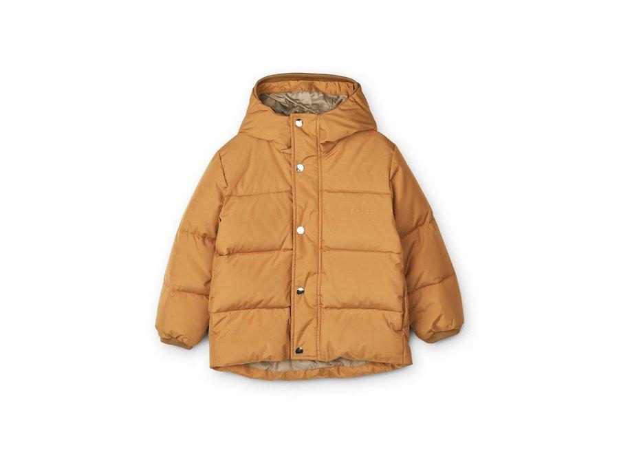 Liewood Palle Puffer Jacket Golden Caramel