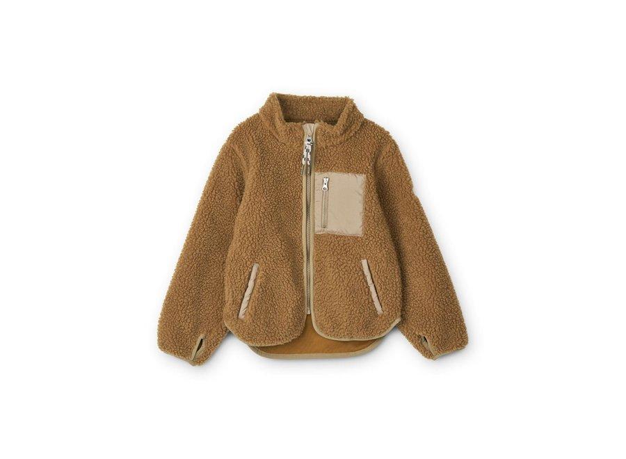 Nolan Jacket Golden Caramel