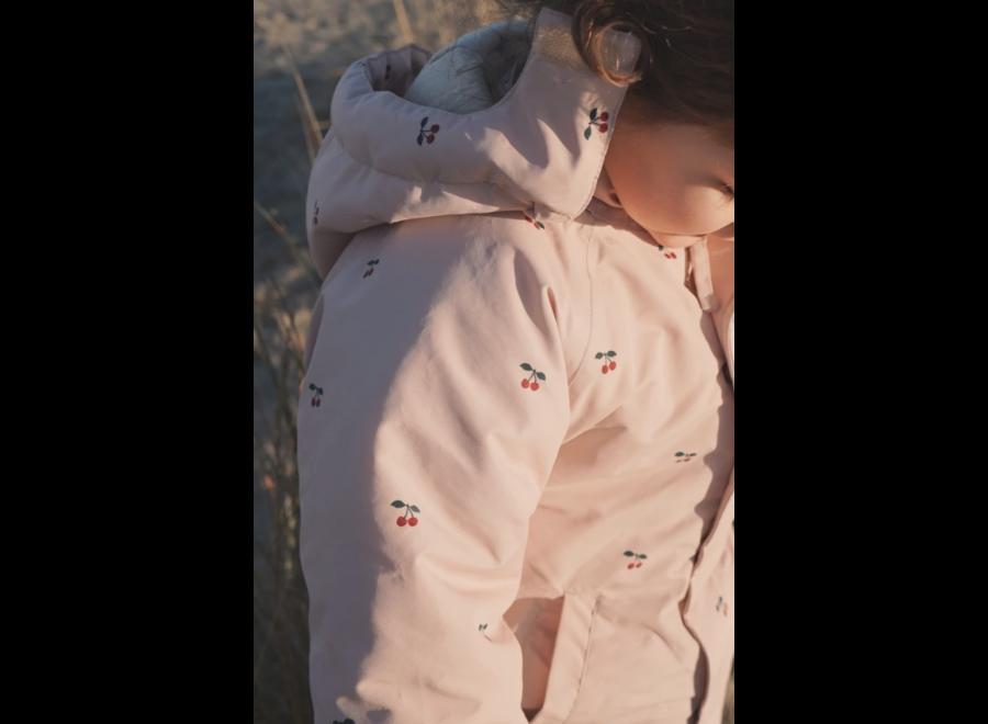 Konges Slojd Nohr Snowsuit Print Cherry Blush