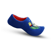 Slipper clog blue