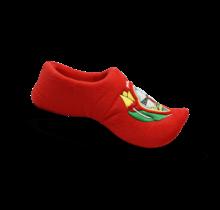 Klomp slipper red
