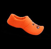Clog slipper orange lion