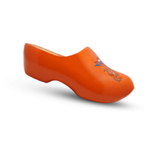 Oranje klompen
