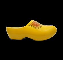 Yellow farmer's kids clogs