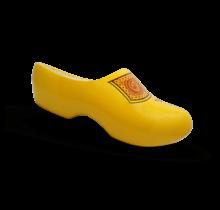 Yellow farmer's clogs