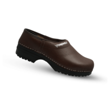 Medical clogs brown Strovels 304