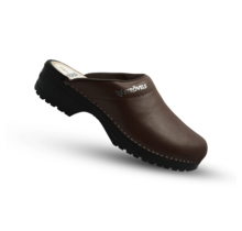 Medical clogs brown Strovels 303