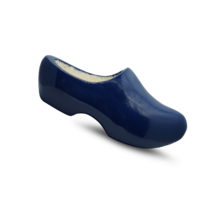 Wooden clog blue