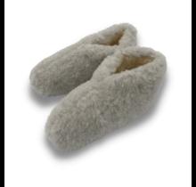 Wool slippers | low model | Grey