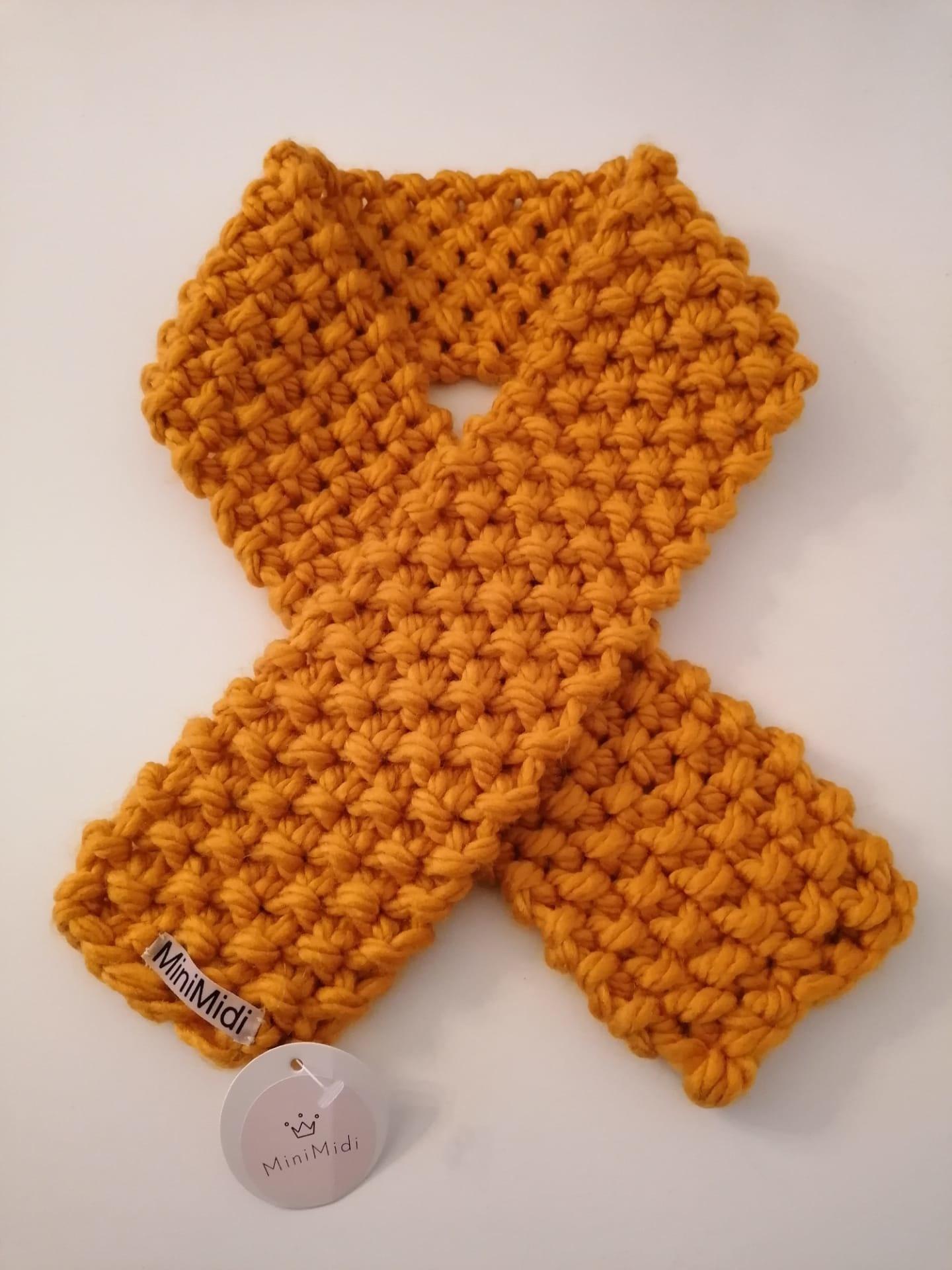 Sjaal Mosterd-1