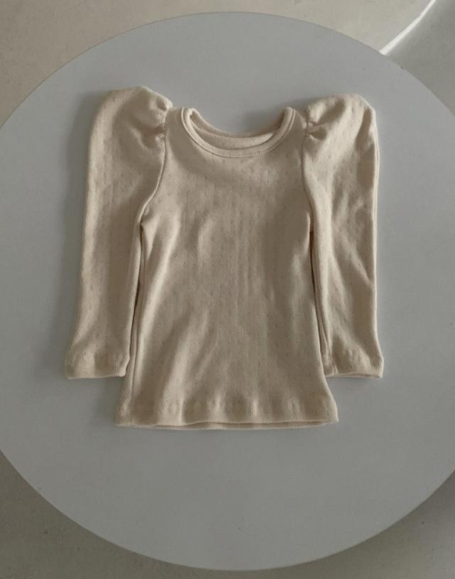 Shirt met Pofmouwtjes-2