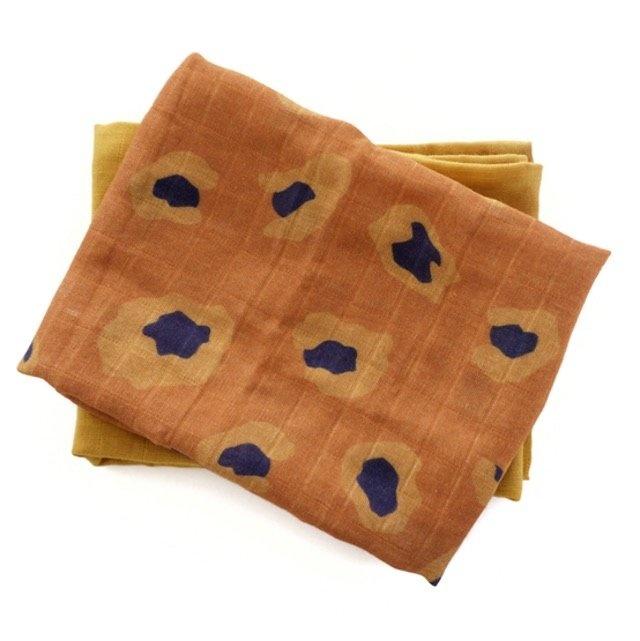 Hydrofieldoeken Honey gold/ rusty leopard-1