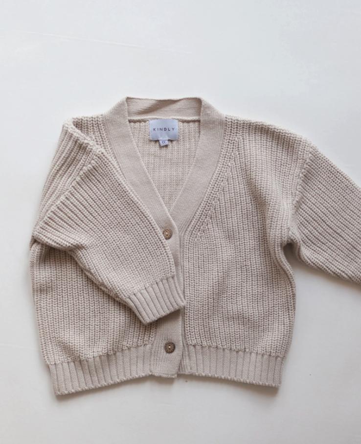 Knit cardigan  vanilla sugar-2