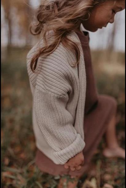 Knit cardigan  vanilla sugar