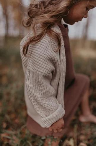 Knit cardigan  vanilla sugar-1