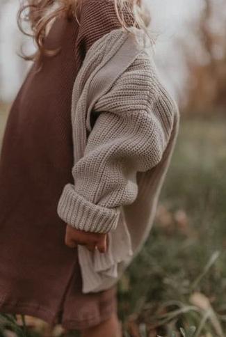 Knit cardigan  vanilla sugar-3