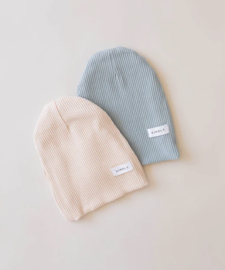 Ribbed Beanie Butter-3