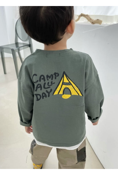 Camp all day shirt