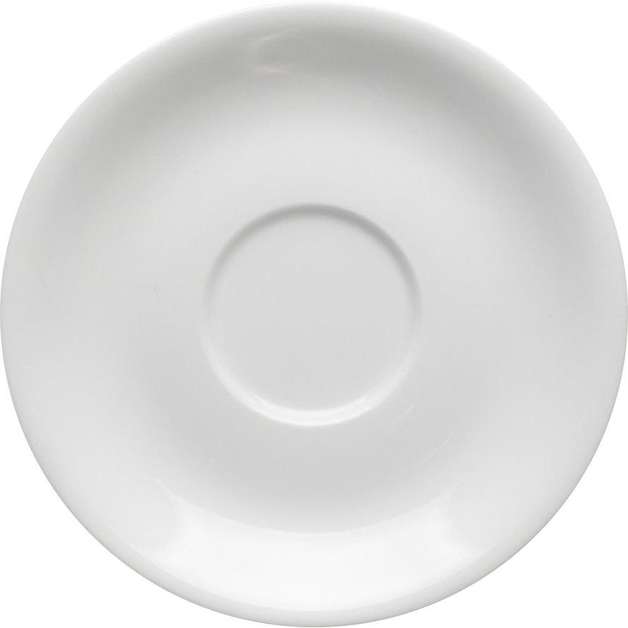 Espressotasse untere weiß