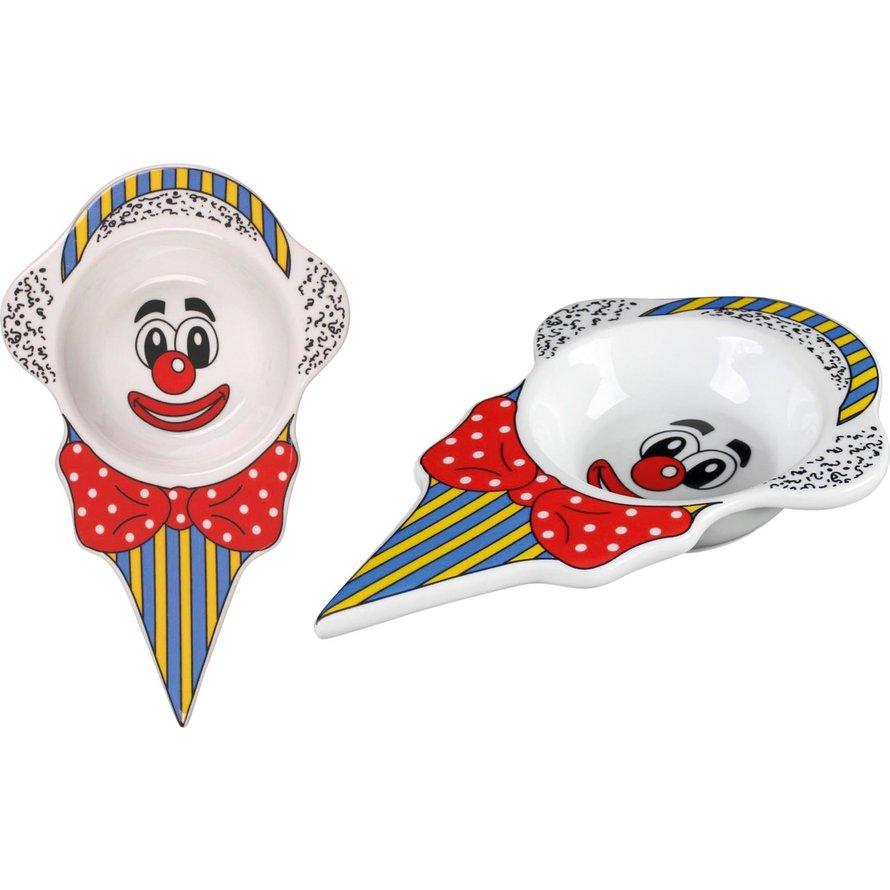 """Eisschale """"Clown"""""""