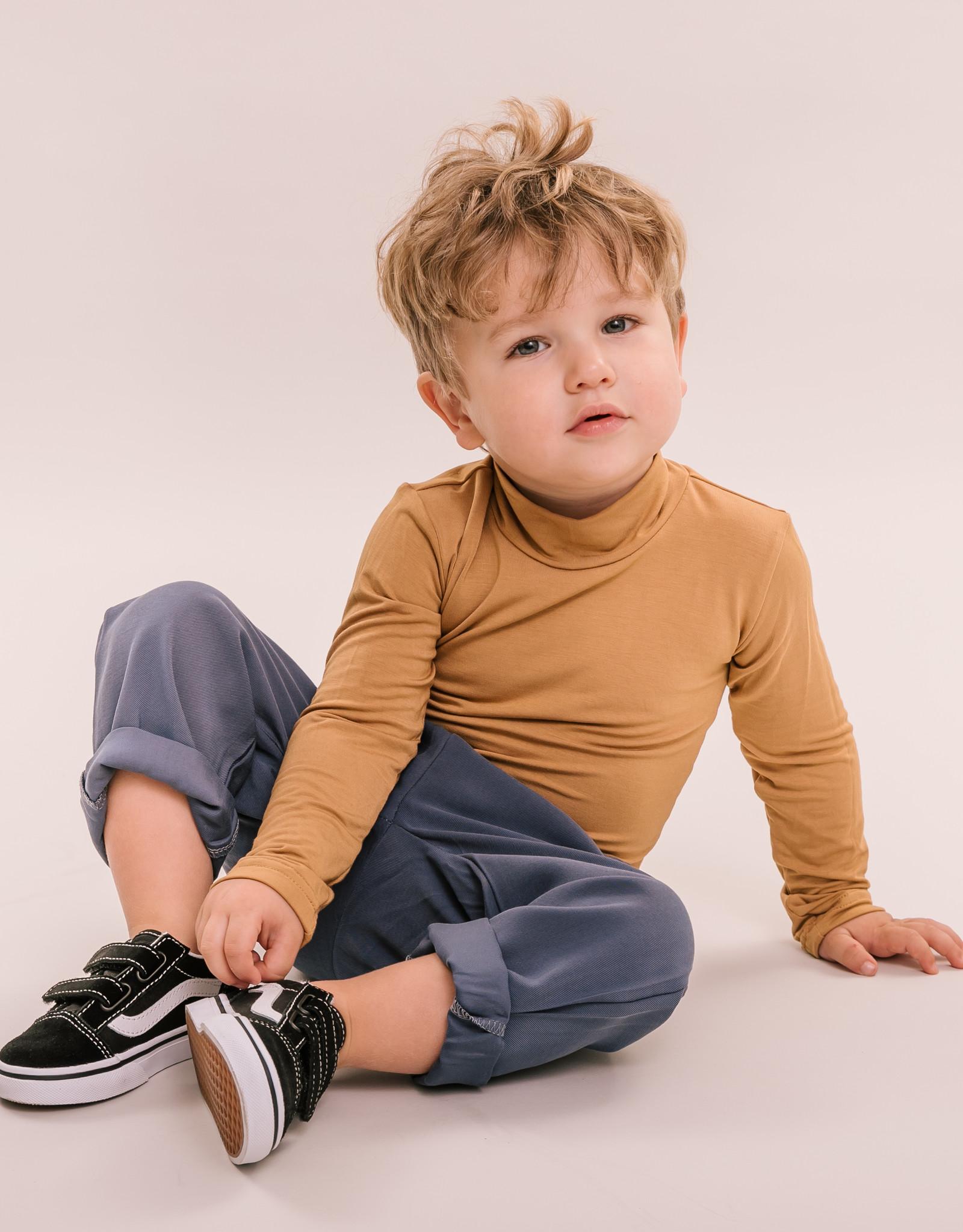 No Labels Kidswear Turtle neck top - corn