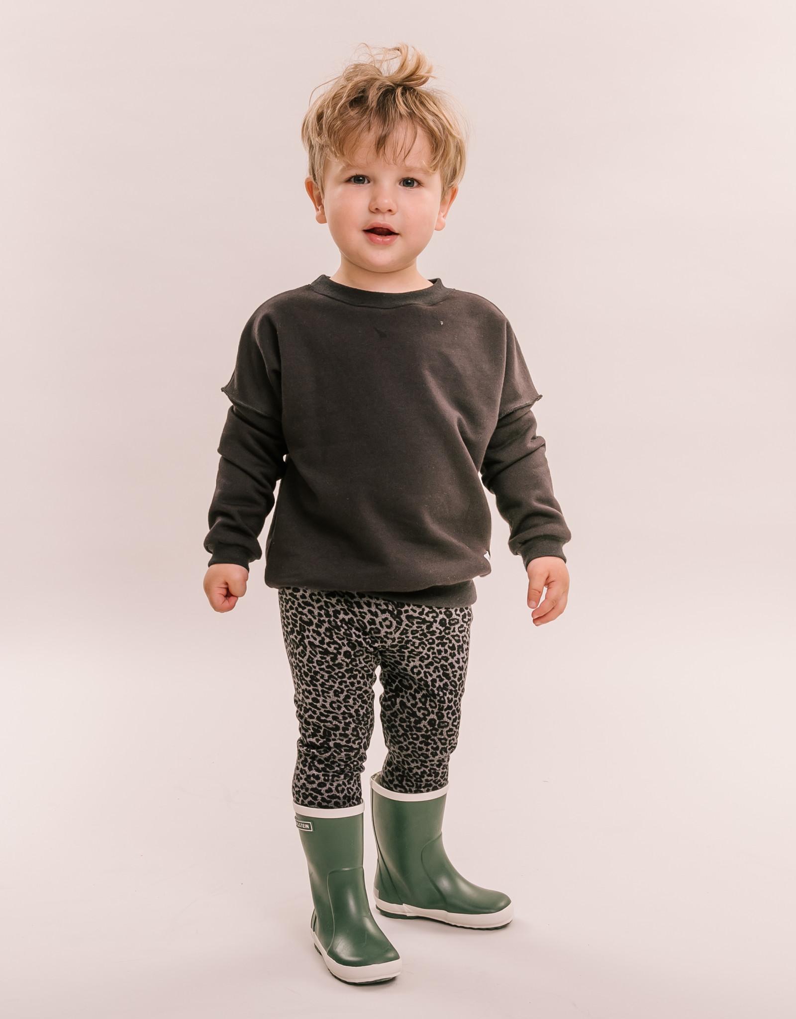 No Labels Kidswear Legging - Grey Leo