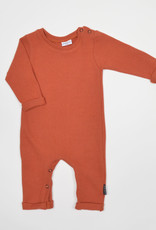 No Labels Kidswear Playsuit - knit rust