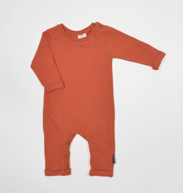 No Labels Kidswear Playsuit - knit rust