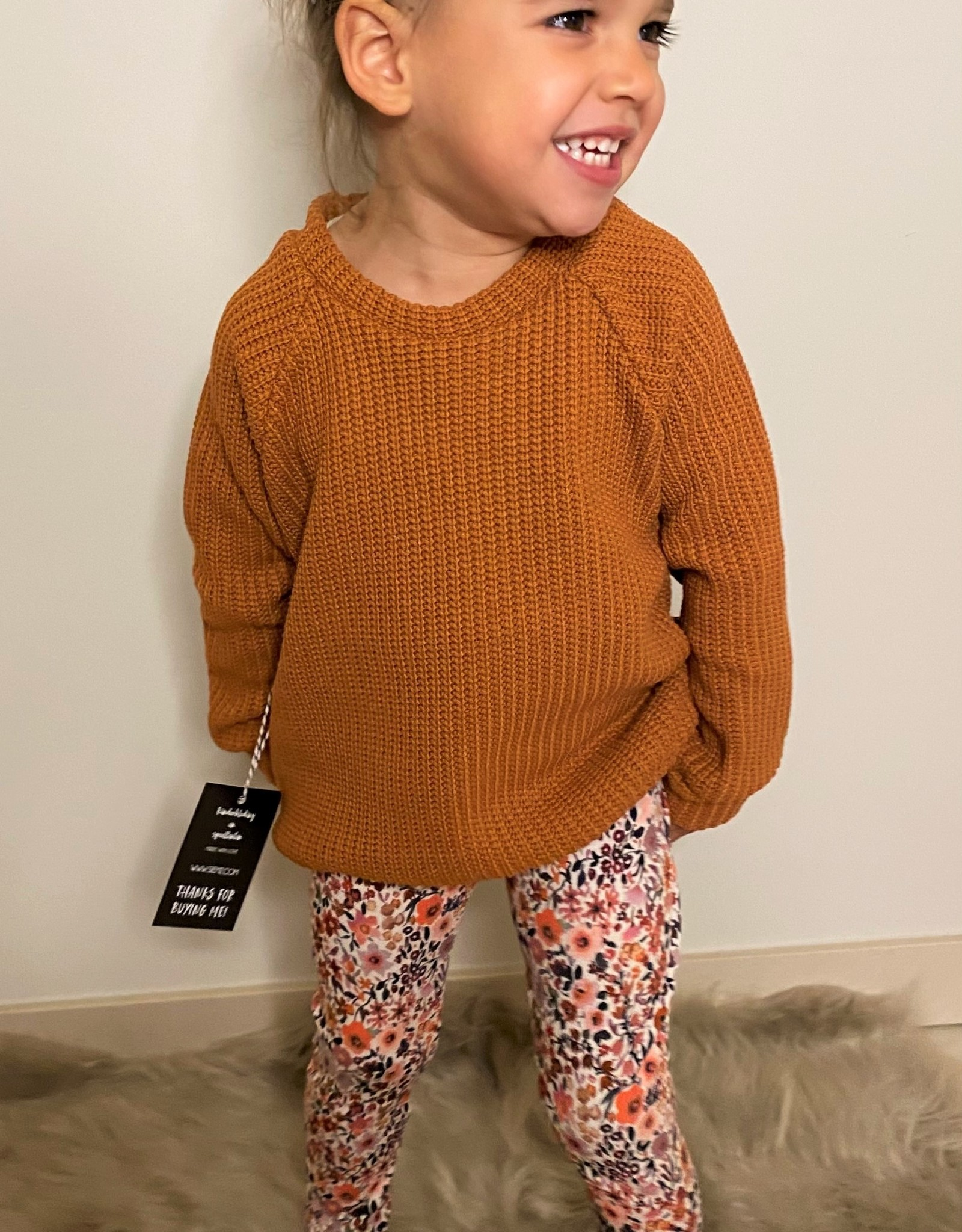 No Labels Kidswear Legging Flower